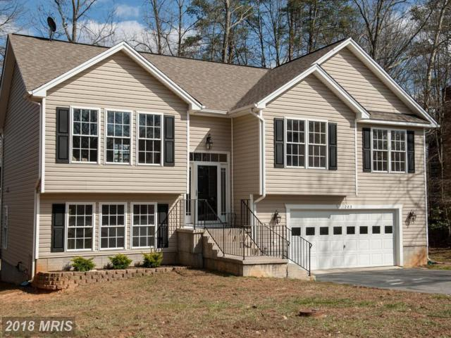 203 Spotslee Drive, Spotsylvania, VA 22551 (#SP10181897) :: CR of Maryland