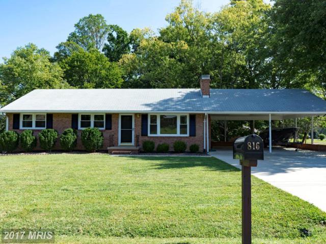 816 Cresthill Road, Fredericksburg, VA 22405 (#ST10063344) :: The Cox & Cox Group at Keller Williams Realty International