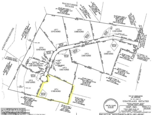 Graceview- Lot 4 Lane, Stafford, VA 22556 (#ST10132206) :: Pearson Smith Realty