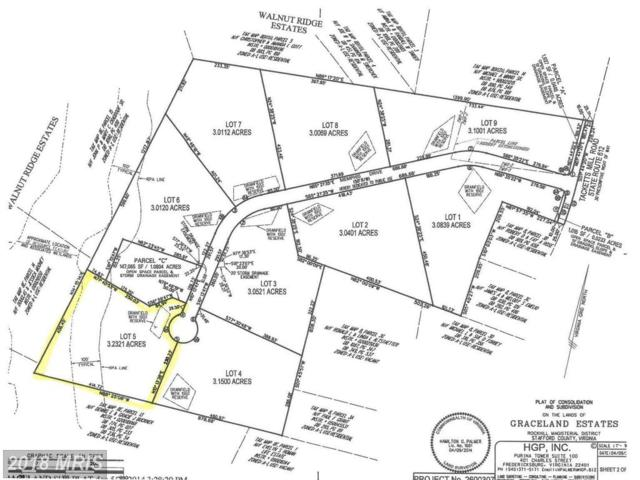 Graceview- Lot 5 Lane, Stafford, VA 22556 (#ST10132227) :: Pearson Smith Realty