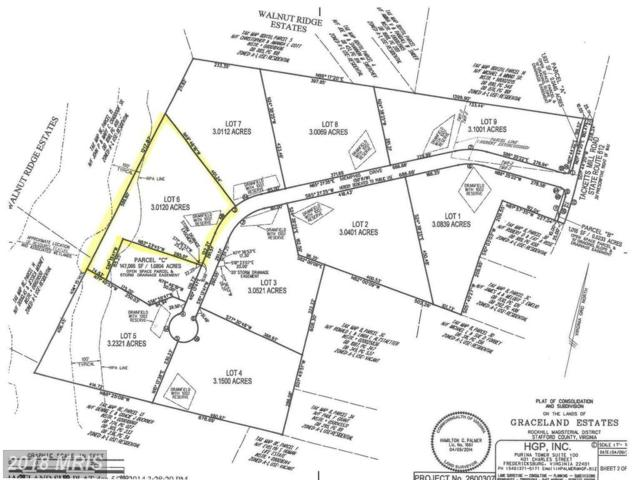 Graceview- Lot 6 Lane, Stafford, VA 22556 (#ST10132230) :: Pearson Smith Realty