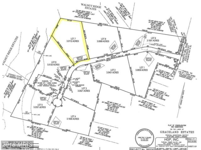 Graceview- Lot 7 Lane, Stafford, VA 22556 (#ST10132257) :: Pearson Smith Realty