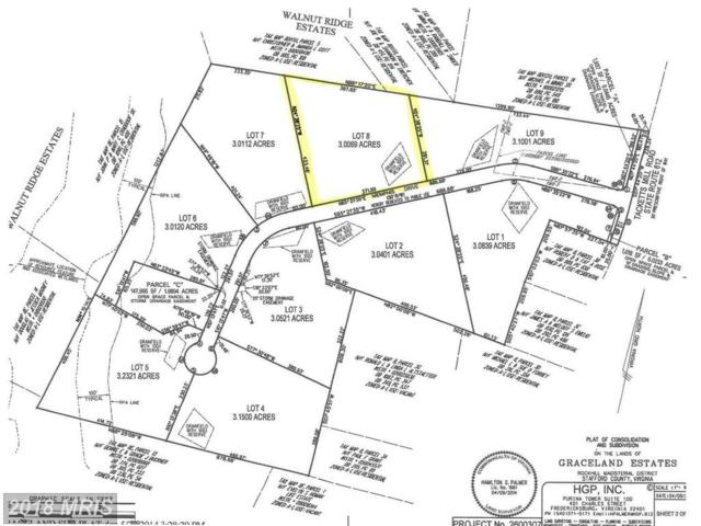 Graceview- Lot 8 Lane, Stafford, VA 22556 (#ST10132269) :: Pearson Smith Realty