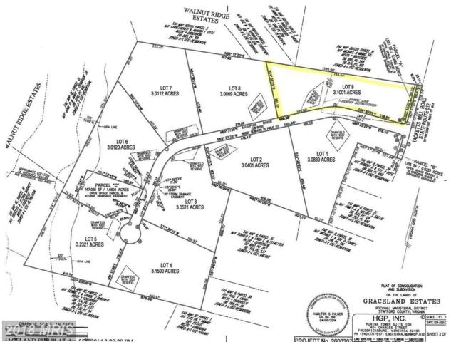 Graceview- Lot 9 Lane, Stafford, VA 22556 (#ST10132274) :: Pearson Smith Realty