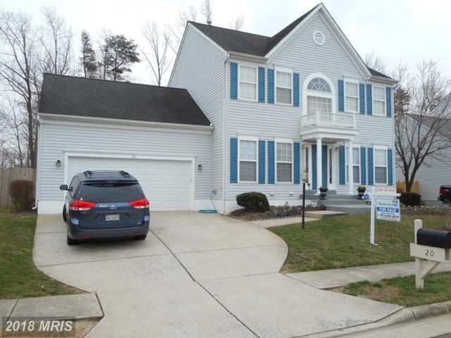 20 Bells Ridge Drive, Stafford, VA 22554 (#ST10183624) :: RE/MAX Cornerstone Realty