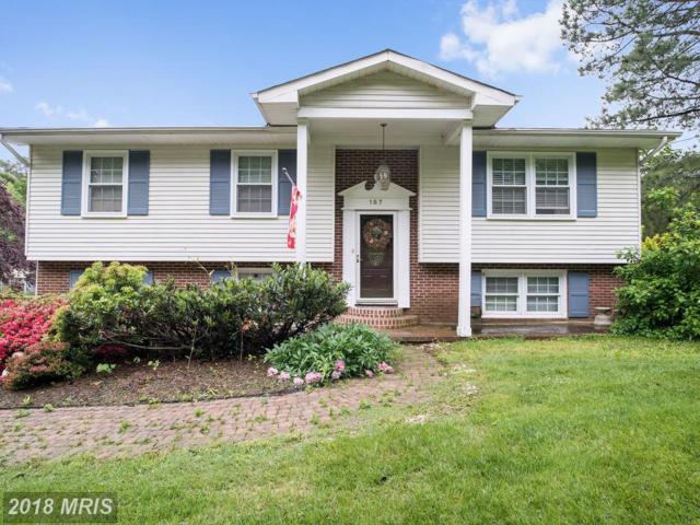 187 Van Horn Lane, Stafford, VA 22556 (#ST10250589) :: Advance Realty Bel Air, Inc