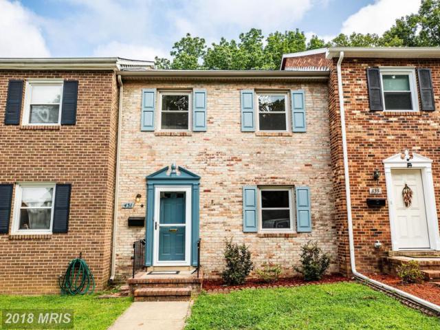 431 Ridgemore Street, Fredericksburg, VA 22405 (#ST10326210) :: Green Tree Realty