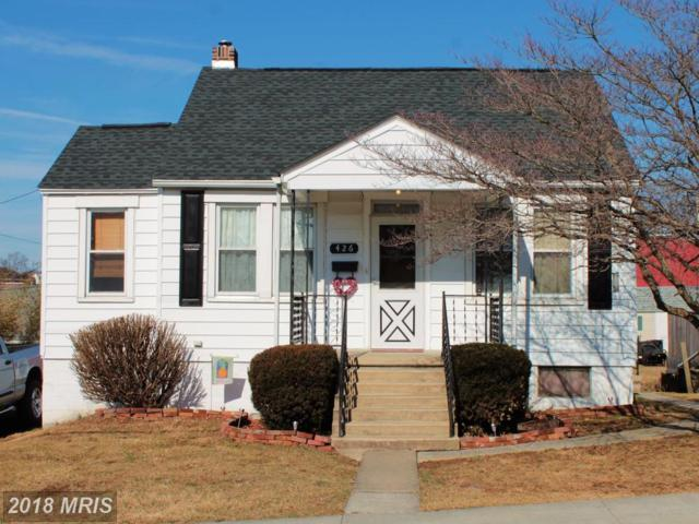426 Washington Street E, Hagerstown, MD 21740 (#WA10159805) :: The Maryland Group of Long & Foster