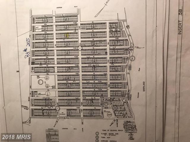 10TH STREET, Colonial Beach, VA 22443 (#WE10191344) :: Circadian Realty Group