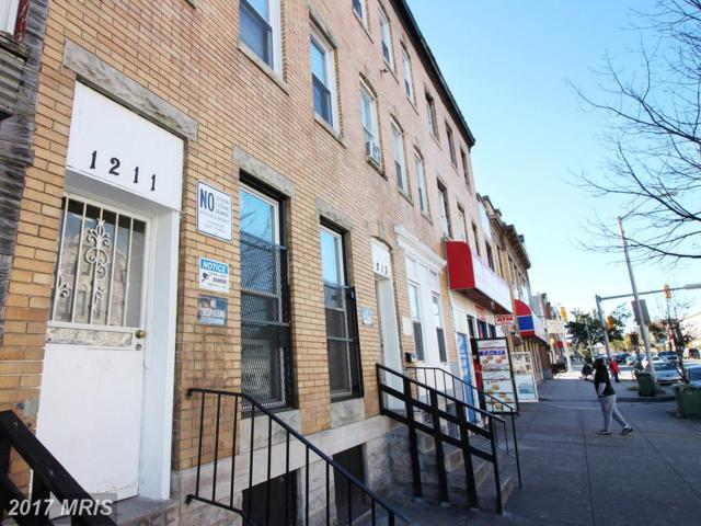 1211 North Avenue W, Baltimore, MD 21217 (#BA10032614) :: Pearson Smith Realty