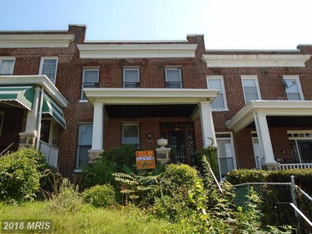 1017 Rosedale Street N, Baltimore, MD 21216 (#BA10039423) :: Bob Lucido Team of Keller Williams Integrity