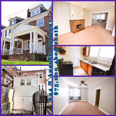 644 Augusta Avenue, Baltimore, MD 21229 (#BA10044087) :: Pearson Smith Realty