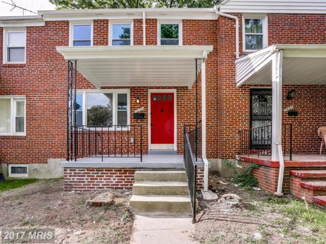 1035 Evesham Avenue, Baltimore, MD 21212 (#BA10061299) :: Pearson Smith Realty