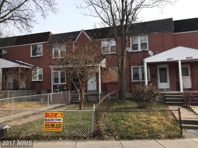 4509 Pall Mall Road, Baltimore, MD 21215 (#BA10103593) :: Pearson Smith Realty