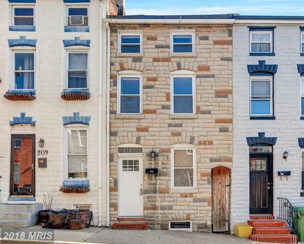 211 Castle Street, Baltimore, MD 21231 (#BA10168159) :: CR of Maryland