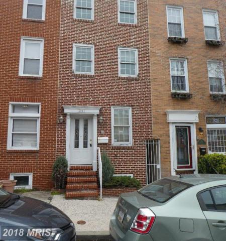 241 Wolfe Street S, Baltimore, MD 21231 (#BA10177874) :: The Daniel Register Group
