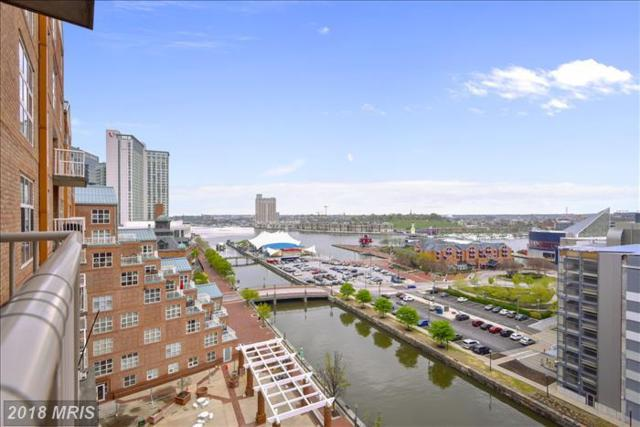 250 President Street #904, Baltimore, MD 21202 (#BA10220091) :: Dart Homes