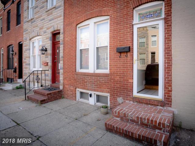 1404 Patapsco Street, Baltimore, MD 21230 (#BA10241823) :: Dart Homes