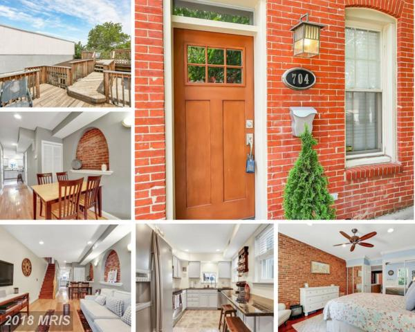 704 Baylis Street, Baltimore, MD 21224 (#BA10281160) :: The Bob & Ronna Group