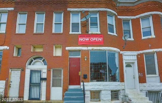 1920 North Avenue, Baltimore, MD 21217 (#BA10295432) :: Bob Lucido Team of Keller Williams Integrity