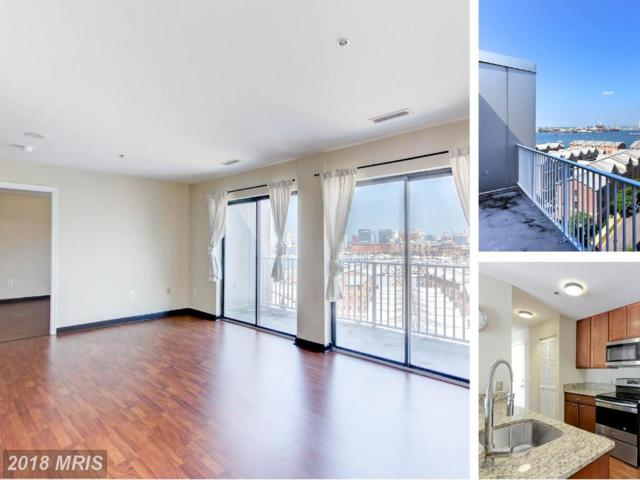 2702 Lighthouse Point East #718, Baltimore, MD 21224 (#BA10296187) :: LoCoMusings