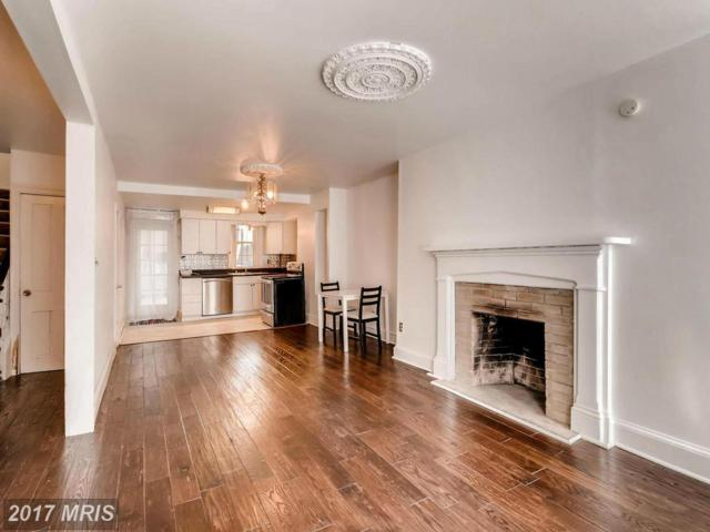 1706 Hollins Street, Baltimore, MD 21223 (#BA9891698) :: Pearson Smith Realty
