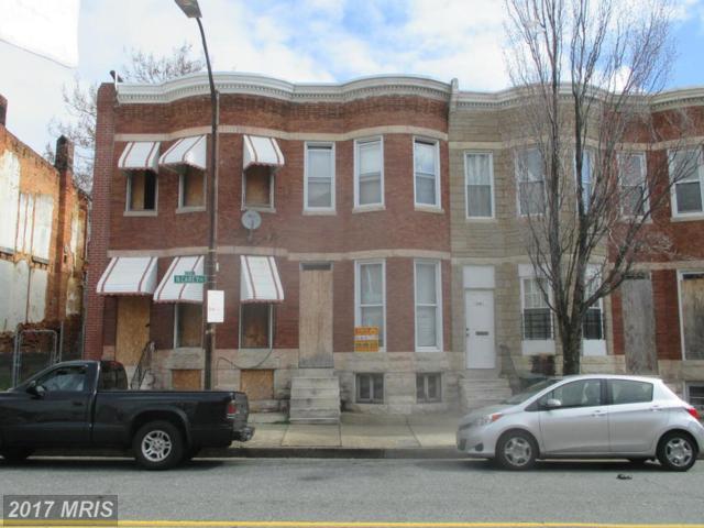1741 Carey Street N, Baltimore, MD 21217 (#BA9918259) :: LoCoMusings