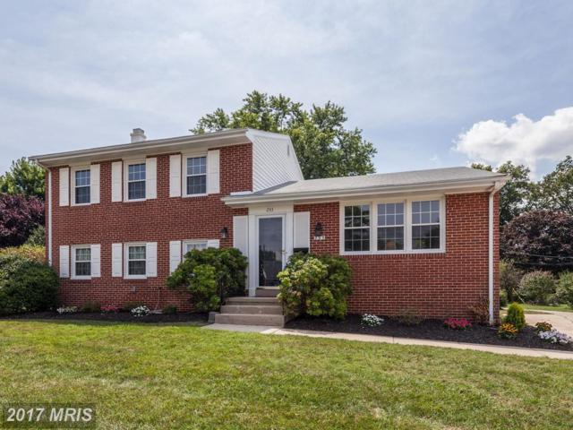 233 Chantrey Road, Lutherville Timonium, MD 21093 (#BC10011295) :: Pearson Smith Realty