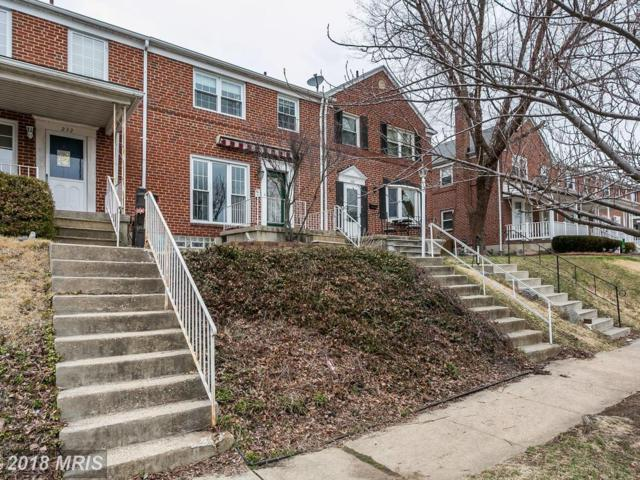230 Altamont Avenue, Baltimore, MD 21228 (#BC10162988) :: Wes Peters Group