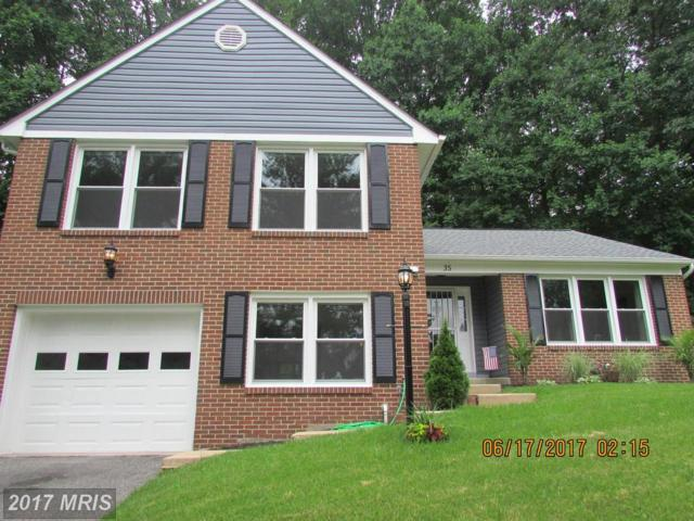 35 Gray Squirrel Court, Lutherville Timonium, MD 21093 (#BC9982482) :: Pearson Smith Realty