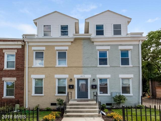 415 W Street NE A, Washington, DC 20002 (#DC10126379) :: Pearson Smith Realty