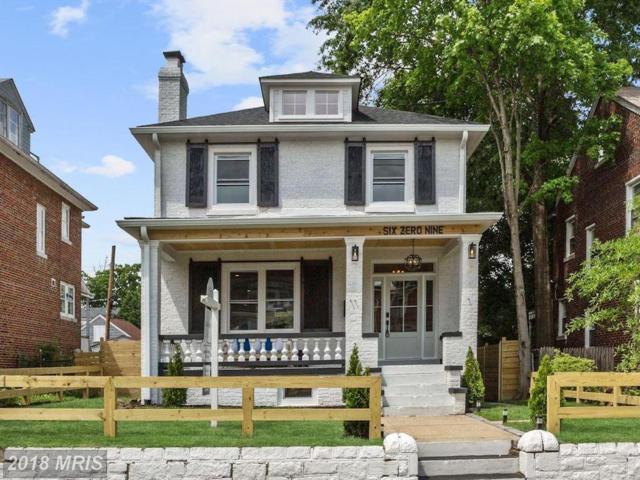 609 Nicholson Street NW, Washington, DC 20011 (#DC10250296) :: Dart Homes