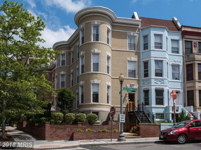 1875 California Street NW #1, Washington, DC 20009 (#DC10308458) :: Crossman & Co. Real Estate