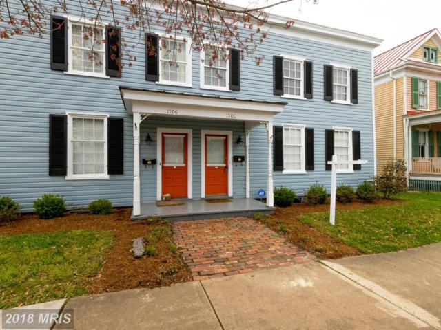 1506-1508 Caroline Street, Fredericksburg, VA 22401 (#FB10193284) :: The Withrow Group at Long & Foster