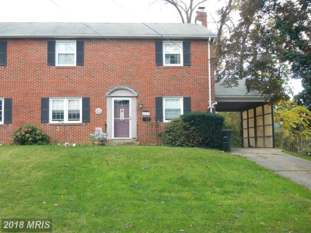 402 Grant Place, Frederick, MD 21702 (#FR10108207) :: Pearson Smith Realty