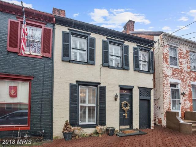 24 W South Street, Frederick, MD 21701 (#FR10151968) :: The Gus Anthony Team
