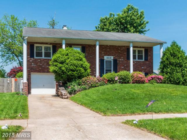 228 Kilgore Court, Joppa, MD 21085 (#HR10247968) :: AJ Team Realty