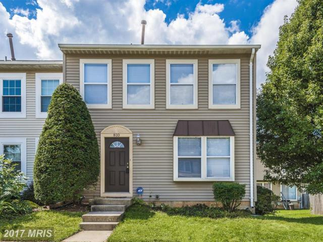810 Curry Ford Lane, Gaithersburg, MD 20878 (#MC10043762) :: Pearson Smith Realty