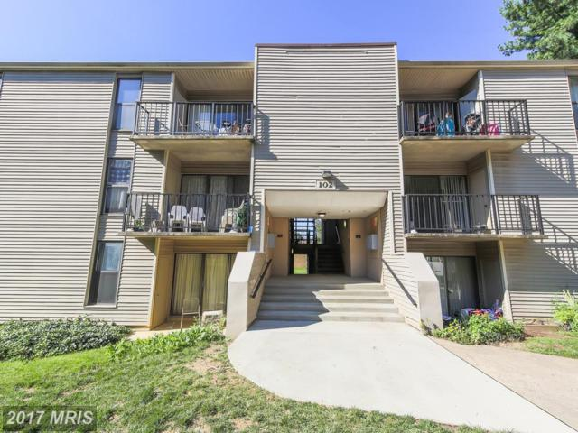 102-#203 Duvall Lane #7, Gaithersburg, MD 20877 (#MC10085077) :: Gary Walker at RE/MAX Realty Services