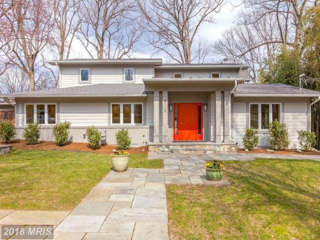5112 Baltimore Avenue, Bethesda, MD 20816 (#MC10182305) :: The Foster Group