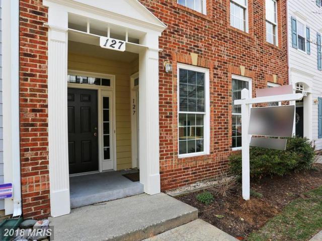 127 Chevy Chase Street #127, Gaithersburg, MD 20878 (#MC10201502) :: Dart Homes