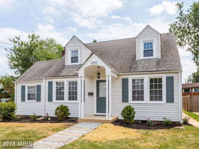 1200 Snowden Place, Laurel, MD 20707 (#PG10304374) :: The Sebeck Team of RE/MAX Preferred