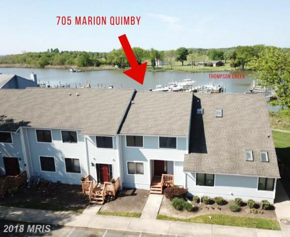 705 Marion Quimby Drive, Stevensville, MD 21666 (#QA10235701) :: The Riffle Group of Keller Williams Select Realtors