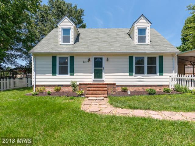 317 Burman Lane, Fredericksburg, VA 22407 (#SP10279435) :: SURE Sales Group