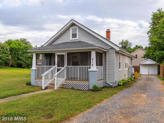 216 Mansfield Street, Fredericksburg, VA 22408 (#SP10306896) :: Bob Lucido Team of Keller Williams Integrity