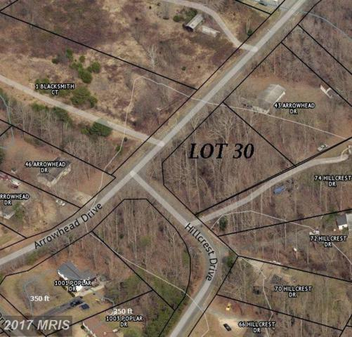 LOT 30 Arrowhead Drive, Stafford, VA 22556 (#ST9989088) :: LoCoMusings