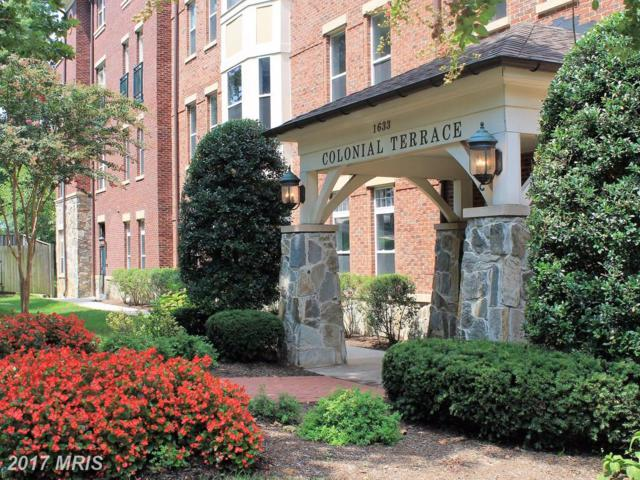 1633 Colonial Terrace #106, Arlington, VA 22209 (#AR10029573) :: LoCoMusings