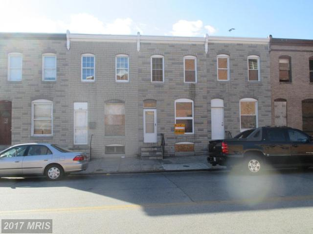 518 Smallwood Street S, Baltimore, MD 21223 (#BA10112242) :: Pearson Smith Realty