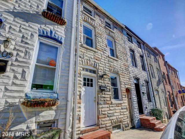 211 Castle Street S, Baltimore, MD 21231 (#BA10126144) :: Pearson Smith Realty