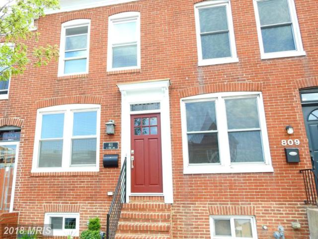 811 Fort Avenue E, Baltimore, MD 21230 (#BA10226971) :: The Dailey Group